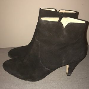 INC Suede booties